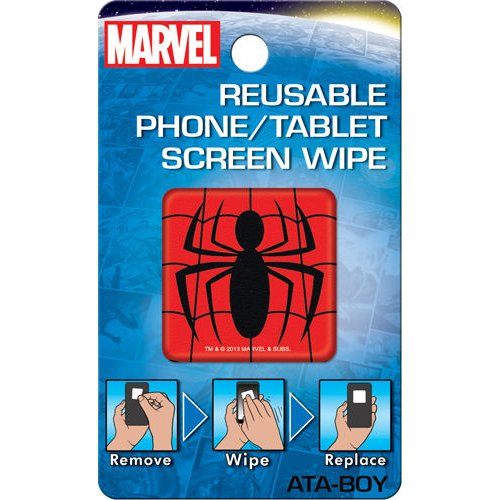 Spiderman Logo Reusable Phone/Tablet Screen Wipe back-212692