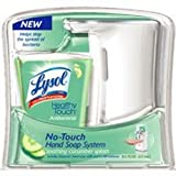 Lysol No-Touch Antibacterial Hand Soap System Soothing Cucumber Splash