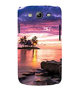 printtech Nature View Sunset Back Case Cover for Samsung Galaxy S3 Neo / Samsung Galaxy S3 Neo i9300i