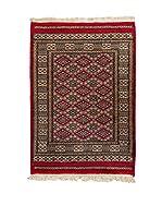Navaei & Co. Alfombra Kashmir Rojo/Multicolor 115 x 78 cm