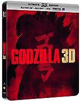 Godzilla - Steelbook Ultimate Edition - Blu-Ray 3D + Blu-Ray + DVD + DIGITAL Ultraviolet [SteelBook Ultimate Édition - Blu-ray 3D + Blu-ray + DVD + Copie digitale]