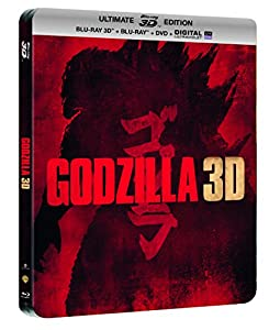 Godzilla - Steelbook Ultimate Edition - Blu-Ray 3D + Blu-Ray + DVD + DIGITAL Ultraviolet [SteelBook Ultimate Édition - Blu-ray 3D + Blu-ray + DVD + Copie digitale]