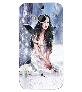 HTC ONE M8 ANGEL Designer Back Cover Case By PRINTSWAG