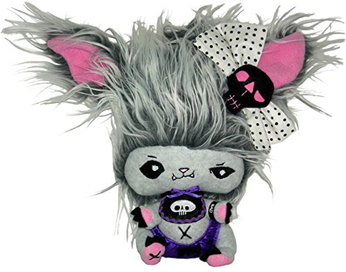 "Vamplets - Werewolf Baby Boy - 9"" Tall Designer Toy Plush Doll - Great Gift For Monster High Fans - Mischievous Howliss - Lives in the Nightmare Nursery of Gloomvania - By My Little Pony designer G-Ra"