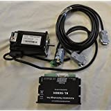 NEMA 23 Closed Loop Stepper Motor System-Hybrid Servo Kit, 32 bit DSP Based: 282 oz-in