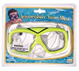 Child's Green Swimming Pool Snorkel Mask