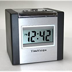 Talking Cube Alarm Clock with LED Green Display Backlight