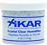 XiKar Crystal Clear 4oz Humidifier Jar, 70% RH