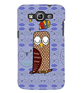 PrintDhaba cartoon D-2797 Back Case Cover for SAMSUNG GALAXY WIN i8552 (Multi-Coloured)
