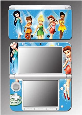 Tinker Bell Tinkerbell Fairy Pixie Princess Chloe Video Game Vinyl Decal Cover Skin Protector #16 Nintendo 3DS XL
