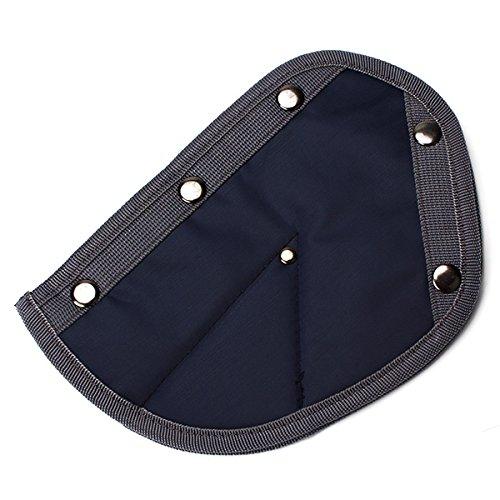 Dark Blue Child Car Safety Seat Belt Adjuster Safety Belt Positioner front-711158