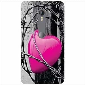 Motorola Moto G (3rd gen) Back Cover - Pink Designer Cases