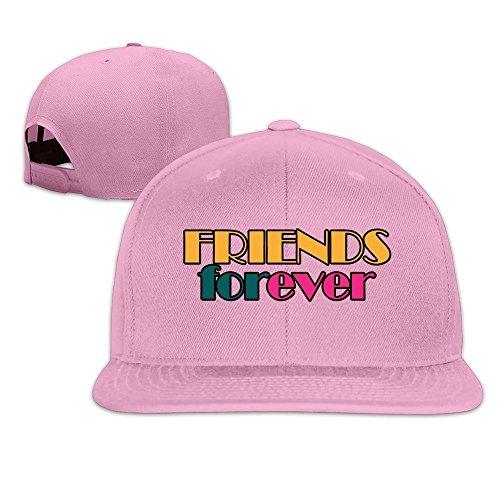 maneg-friends-forever-unisex-fashion-cool-adjustable-snapback-baseball-cap-hat-one-size-pink