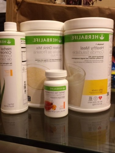 HERBALIFE FORMULA 1 SHAKE MIX (750G), PERSONALIZED PROTEIN (360G), ALOE CONCENTRATE (PINT), TEA CONCENTRATE (1.8 OZ) COMBO***EMAIL FLAVORS OF PRODUCTS***EVERY FLAVOR AVAILABLE!!! SHIPS IMMEDIATELY