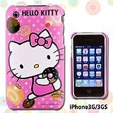 ハローキティ☆iPhone3G/3GS専用iDressアイドレス(ピンク)ID-09KT