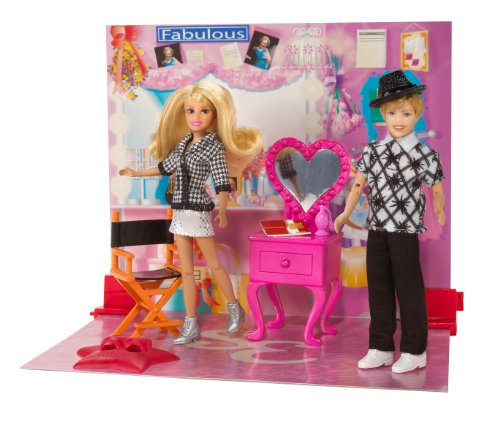 Buy Low Price Mattel High School Musical 3 Dressing Room Movie Scene Playset Figure (B001TIRUXM)