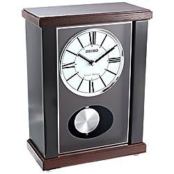 Seiko QXQ028KLH Mantel Japanese Quartz Shelf Clock