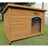 Kennels Imperial Extra Large Insulated Wooden Norfolk Dog Kennel With Removable Floor For Easy Cleaning B
