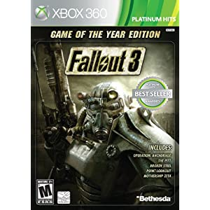 Fallout 3 Game of the Year Edition Xbox 360 Game or PS3 or PC