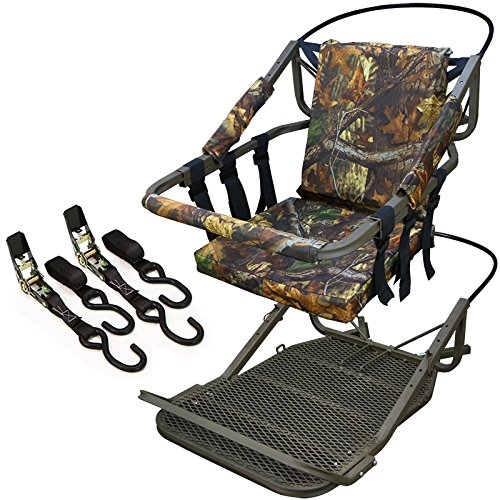 Great Deal! Portable Hunting Tree Stand Climber Deer Bow Game Hunt