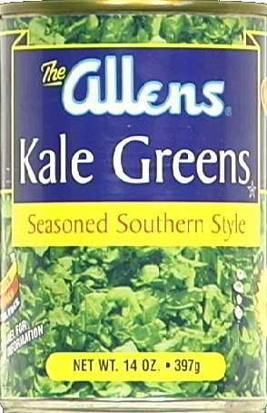 Allens, Greens Kale Chopped, 14 OZ (Pack of 24)