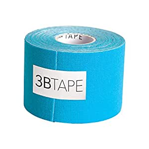 "3B Scientific Blue Cotton Rayon Fiber Kinesiology Tape, 16' Length x 2"" Width"