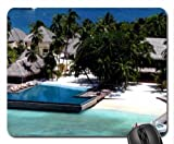 Aticor Design Resort in Maldives Mouse Pad, Mousepad (Beaches Mouse Pad)