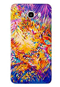 Blue Throat Mix Match Of Box Printed Designer Back Cover For Samsung Galaxy J7