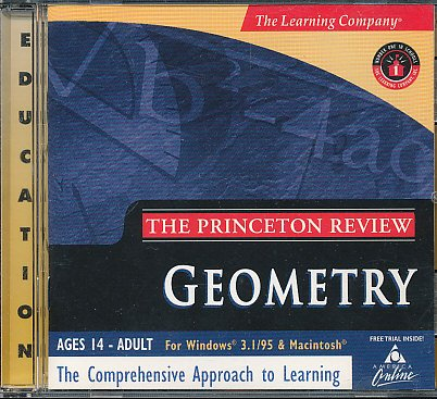 The Princeton Review: Geometry (College Prep Series, Grades 9 - 12) The Learning Company (Ages 14- Adult) Comprehensive Approach to Learning - 1