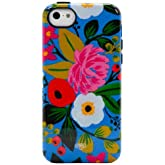 Sonix Inlay Case for iPhone 5/5S/5C - Cyan Floral