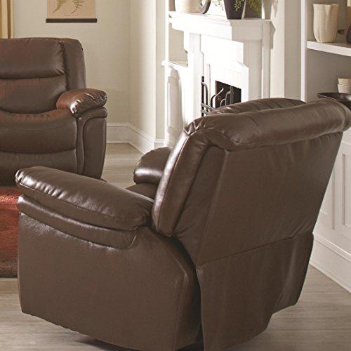 Coaster Home Furnishings Glider, Dark Brown front-522843