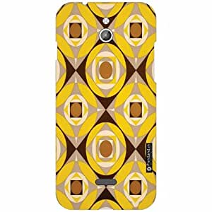 Infocus M2 Back Cover - Silicon Pattern Art Designer Cases