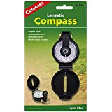 Coghlans Lensatic Compass Liquid Filled For Fast Readability With Sturdy Plas...