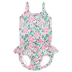JoJo Maman Bébé - traje de baño con el pañal, para niños de 1 a 2 años, razón: Tropical