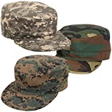 Rothco Adjustable Camouflage Military Fatigue Cap