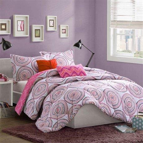 Mizone Cali Softspun Comforter Set - Multi - Twin/Txl front-981545