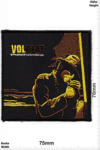 Patch - Volbeat - VOL BEAT - Smokepatch - MusicPatch - Rock - Chaleco - toppa - applicazione - Ricamato termo-adesivo - Give Away