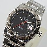 [ロレックス] ROLEX 腕時計 116264 デイトジャスト ターノグラフ 黒 D番 OH済 メンズ 中古