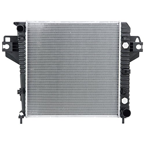 Reach Cooling REA41-2481A - 2481 Radiator For Jeep Liberty - 3.7 V6 Lifetime Warranty (2003 Jeep Liberty Radiator compare prices)