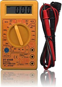 kenable Digital Multimeter Tester With Test Leads- Multi-Meter MultiTester