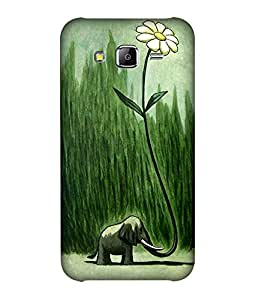 small candy 3D Printed Back Cover For Samsung Galaxy J5 2016 -Multicolor illustration