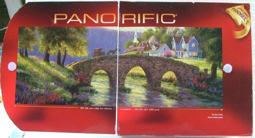 Panorific 1000 Piece Puzzle. Old Stone Bridge. by Sure-Lox