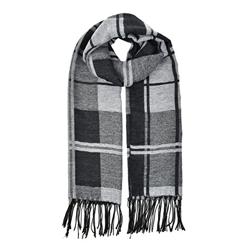 winter-women-oversize-plaid-thick-scarf-tassel-wraps-multi-colors