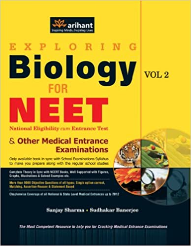 Exploring Biology for NEET National Eligibility cum Entrance Test and Other Medical Entrance Examinations (Volume - 2) price comparison at Flipkart, Amazon, Crossword, Uread, Bookadda, Landmark, Homeshop18
