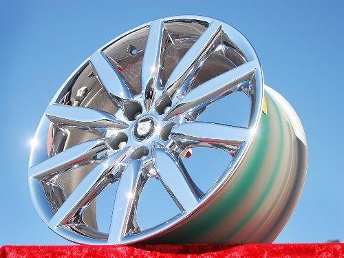 Jaguar XK8 Atlas: Set of 4 genuine factory 19inch chrome wheels (19 Inch Chrome Rims Set Of 4 compare prices)