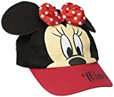 ABG Accessories Girls' Minnie Mouse 3D Bow Baseball Cap