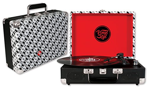 Vinyl-Styl-Groove-Portable-3-Speed-Turntable-Record-Pattern