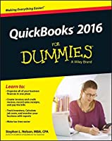 QuickBooks 2016 For Dummies Front Cover