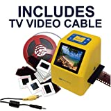 Wolverine 20MP 4-In-1 Film to Digital Converter (F2DSUPER) - Bundle INCLUDES TV CABLE PC, Personal Computer