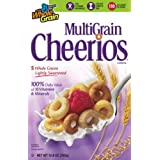 Multi Grain Cheerios Cereal, 12.8-Ounce Box (Pack of 5) ~ General Mills